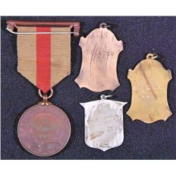 Canadian Shooting Medals Lot of 4