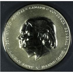 Canadian Governor General personal medal, Jeanne Sauve