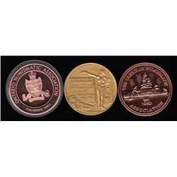 Canadian Coin Club Medals