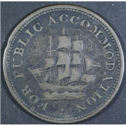 Public Accommodation St. John Half Penny Token