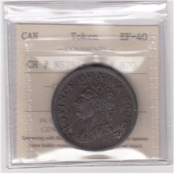 BR 870. Province of Nova Scotia One Penny, 1832