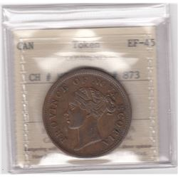 BR 873. Province of Nova Scotia One Penny, 1840
