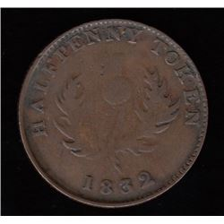 Province of Nova Scotia Halfpenny, 1832