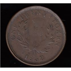 Province of Nova Scotia One Penny, 1832