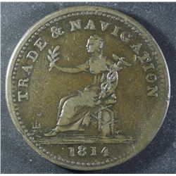 Province of Nova Scotia, Trade & Navigation Token