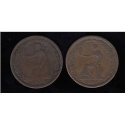 Wellington Tokens - Lot of 2