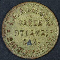Canada - Ontario Merchant Token, L.G. Marineau 1 Loaf, BR 743a