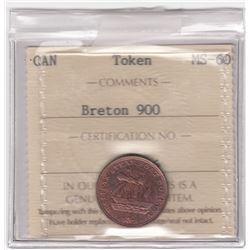 Canada - Halifax Steamboat Token - Co. 364. Br 900.