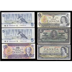Assorted Bank of Canada Lot