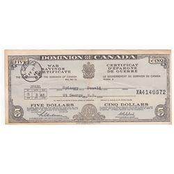 War Savings Certificates - Lot of 2