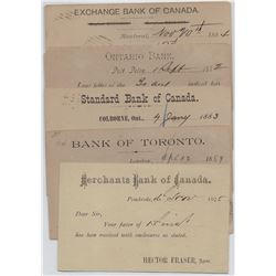 CANADIAN BANK POSTAL STATIONERY