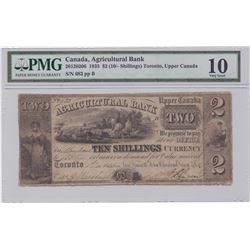 Agricultural Bank $2, 1835