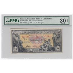 Canadian Bank of Commerce $20, 1935