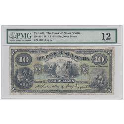 Bank of Nova Scotia $10, 1917