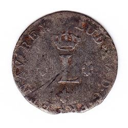 Br 509. Billon Sol of 12 Deniers. 1740 P. (Dijon).