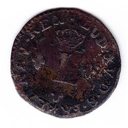 Br 509. Billon Sol of 12 Deniers. 1740 AA. (Metz).