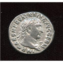 Trajan. 98-117 AD. AR Denarius