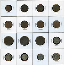 Belgium - Lot of 24 Coins