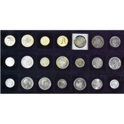 Germany (German States) - Lot of 21 Silver Coins - Part 1