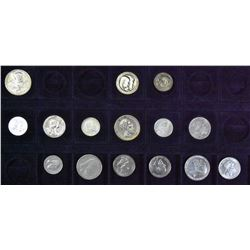 Germany (German States) - Lot of 15 Silver Coins - Part 5