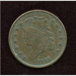 1835 USA Half Cent