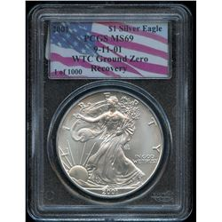 2001 USA Silver Eagles - WTC Ground Zero