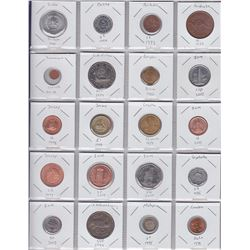 Binder with 114 Various World Coins