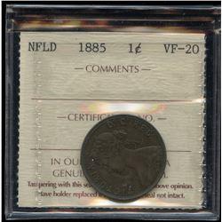 Newfoundland 1885 1 Cent