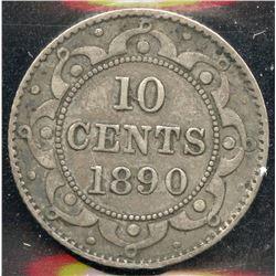 Newfoundland 1890 10 Cent