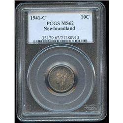 Newfoundland 1941C 10 Cent