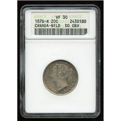 Newfoundland 1876 H 20 Cents