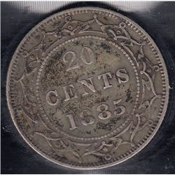 Newfoundland 1885 20 Cents