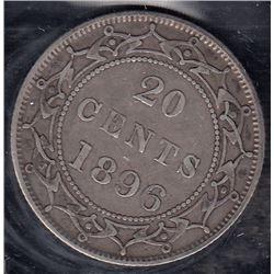 Newfoundland 1896 20 Cents