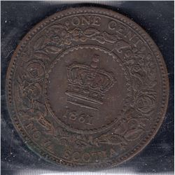 Nova Scotia 1861 1Cent