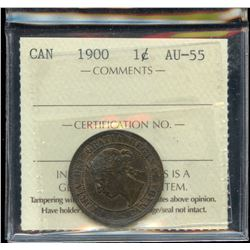 1900 One Cent