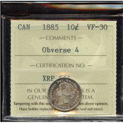 1885 Ten Cents