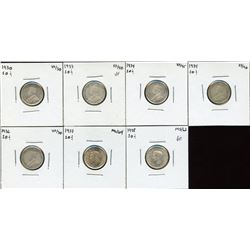 Ten Cents - Lot of 7