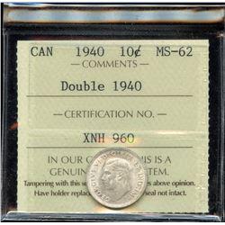1940 Ten Cents