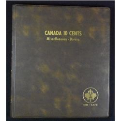 Canadian Ten Cent Collection (1902 - 1999)