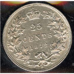 1872H Twenty-Five Cents