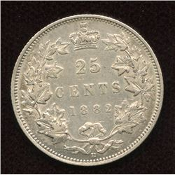 1882H Twenty-Five Cents