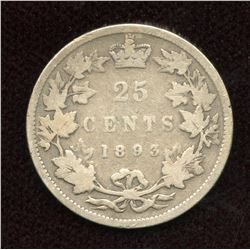 1893 Twenty-Five Cents