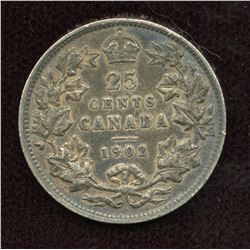1902 Twenty-Five Cents
