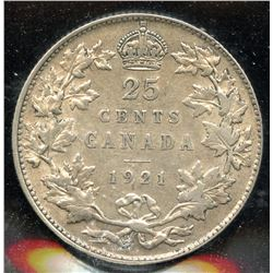1921 Twenty-Five Cents