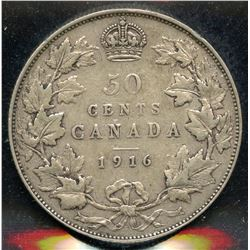 1916 Fifty Cents