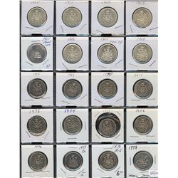 Lot of 65 Fifty Cents