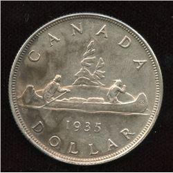 1935 Silver Dollar