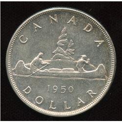 1950 Silver Dollar