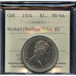 1974 Nickel Dollar