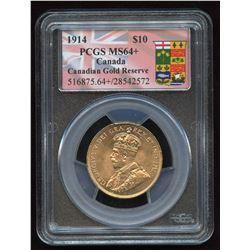 1914 Canada $10 Gold